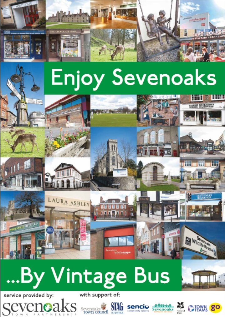 Enjoy Sevenoaks by Vintage Bus
