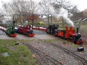 Swanley New Barn Railway