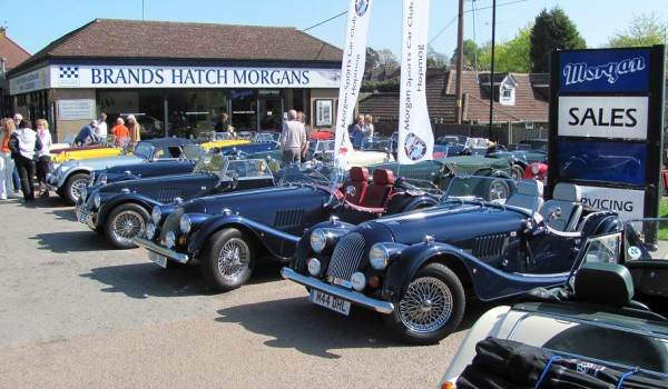Brands Hatch Morgans