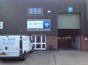A6 MOT's