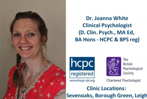 Dr. Joanna White, Clinical Psychologist